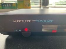 MUSICAL FIDELITY T1 FM Analogue Radio Tuner