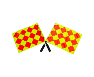 LINESMAN FLAGS soccer football set of 2