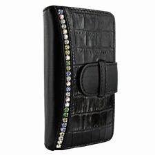 Piel Frama iPhone 7 WalletMagnum Swarovski Black