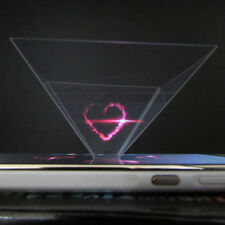 3D Holographic Display Pyramid*Stand Projector for 3.5'~6.5' Cell Phone Trendy