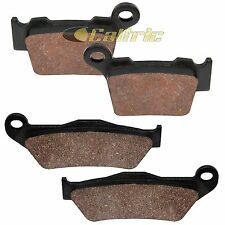 Sixity Front Rear Organic Brake Pads 2013-2015 for KTM 250 SX-F Set Full Kit 4T Complete
