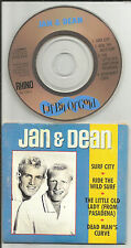 JAN & DEAN and Lil Bit of Gold LIMITED MINI 3 INCH CD single 1988 USA CD3 USA