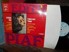 Edith PIAF: N°5 (A quoi ça sert l'amour...) Olympia 1962 / EMI France stereo LP