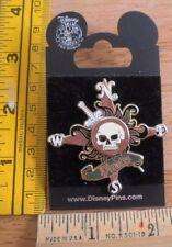 Pirates of the Caribbean skeleton compass rose pin Disney pin MOC 3D
