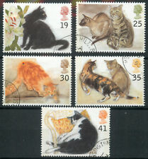 GB 1995 Cats set used *COMBINED SHIPPING*