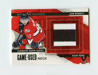 ITG FINAL VAULT 13/14 HEROES & PROSPECTS GAME-USED PATCH SAM BENNETT 1/1 *67037