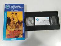 Le BICICLETAS Son para Il VERANO Chavarri VHS Cassetta Cartone Castellano Mondo