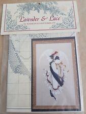 Lavender Lace cross stitch chart Angel of Hope LL13