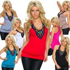 Locker sitzende Damenblusen, - tops & -shirts mit Rundhals-Ausschnitt und Ethno
