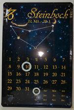 Capricorn zodiac metal sign 20 x 30cm (BS 231)