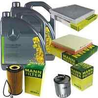 Inspektionspaket 10L Mercedes Öl 229.51 5W30 + MANN Filterpaket 11134508