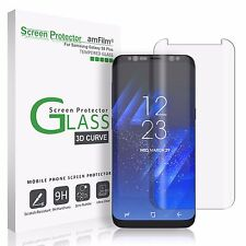 Samsung Galaxy S8 Plus amFilm Full Cover Tempered Glass Screen Protector (Clear)