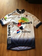 Nalini Cycling Jersey Banesto Illes Balears Mens Size 2