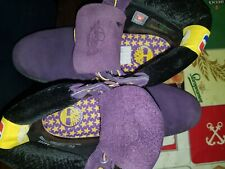 Paarse timberlands LA lakers