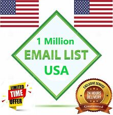 1 Million USA B2B Detailed Consumer Email List Sales Database ✔️ ✔️