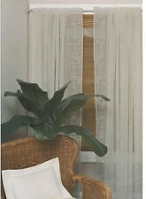 """Heritage lace Sheer Divine -60""""x63""""  Polyester-Ecru"""