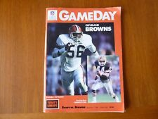 Chicago Bears program vs Cleveland Browns Sept 7 1986