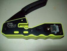 True Ethernet Network Tool Kit Cable Crimper - Crimping- Plier - Stripper