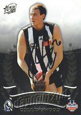 ✺Signed✺ 2010 COLLINGWOOD MAGPIES AFL Premiers Card BEN REID