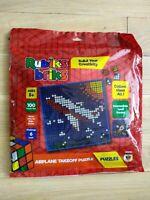 New & Sealed! Rubik's Briks - Plane Takeoff - 100 Tiles Puzzle, Level 6, Ages 8+
