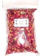 Bag of Dried Red Rose Petals - Natural Wedding Confetti - Craft Work, Pot Pourri