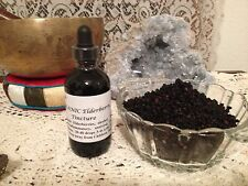 Organic Elderberry Tincture Extract 4floz Anti-Viral, West Nile, Coughing