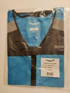 BRAND NEW Vest 2XL 3XL Amazon DSP Flex Delivery Driver Safety Vest - Reflective