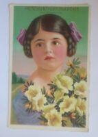 Geburtstag,  Kinder, Mode, Blumen,   1930 ♥  (58521)
