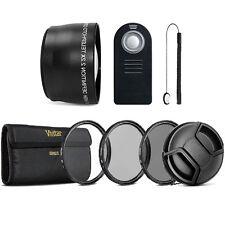 58mm Telephoto Lens + Accessory Lens Kit for CANON EOS Rebel T6i T6 T5i T5 T4i