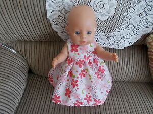 """baby born doll dress or fits 16"""" doll doll not included"""