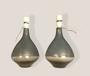 Caithness Rare Pair Of Lamps Domnhall O'Brien 1960'S