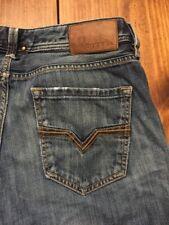 DIESEL LARKEE Regular Straight Leg Jeans Wash 0074C Size 32W 34L