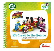 LeapFrog LeapStart Mickey and The Roadster Racers Pit Crews to The Rescue 3D Enhanced Book - 461703