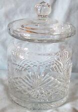 Wedgwood Majesty Pattern Crystal Biscuit Jar