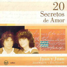 NEW - 20 Secretos De Amor by Juan & Juan (Juan Marcelo & Juan Eduardo)