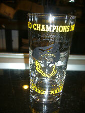 1960 PITTSBURGH PIRATES WORLD CHAMPIONS DRINKING GLASS FACSIMILE SIGNATURES