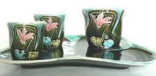 Beau service en céramique ,Five Lille ,art nouveau.1900