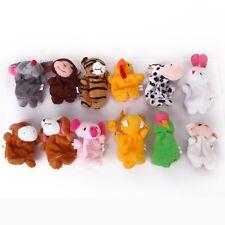 12pcs Zodiac Animal Finger Puppets Toy Set N3