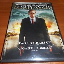 Lord of War (DVD, 2006, 2-Disc Widescreen Special Edition) Nicolas Cage Used