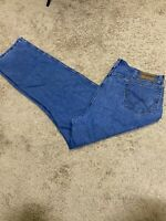 Wrangler Rugged Wear Men's Blue Denim 42x32 Immaculate Condition