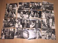 16 Original-Presse-Fotos MANOLO ESCOBAR-Privat+Film-FELIPE LOPEZ/Madrid-Rarität!