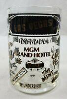 VINTAGE Las Vegas Casino/Hotel Clear Glass Souvenir Beer Stein/Coffee Mug Beer