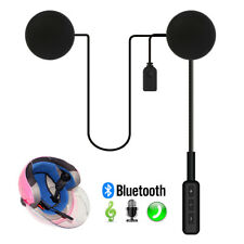 Motorcycle In-Helmet Headset Speakers Bluetooth Handsfree Music Call Control