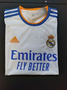 Real Madrid Home Jersey White Color Size XL BENZEMA
