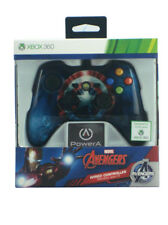 Avengers xBox 360 Wired Video Game Controller Captain America Shield New In Box