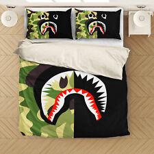 A Bathing Ape Bape #2 Bedding set Zipper Duvet cover US Twin Full Queen King