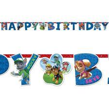 Décorations de fête multicolores anniversaires-enfants pour la maison