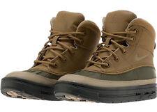 Nike Woodside High ACG Kids Boots Brown Khaki Golden Beige Boys Shoes 524873-301