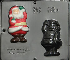 """Santa Claus Assembly 4 1/2"""" Chocolate Candy Mold Christmas 2003 NEW"""