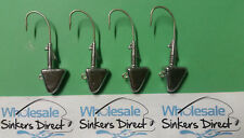 12 X 2.5oz bulk australian made style 9 shad head jigs with eagle claw 7/0 hooks